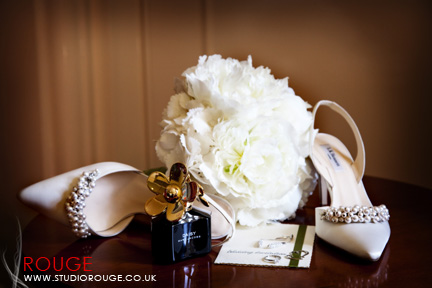 Wedding photography at Wotton House Studio Rouge