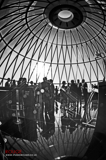 Wedding photography at the Gherkin by Studio Rouge032
