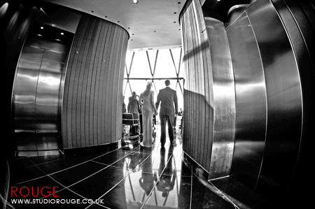 Wedding photography at the Gherkin by Studio Rouge042