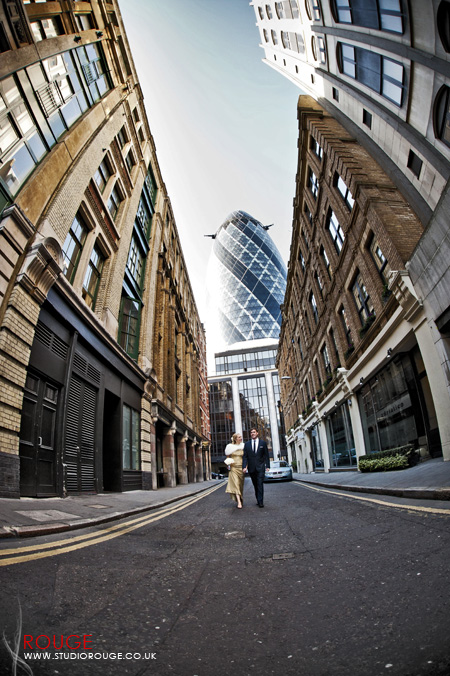 Wedding photography at the Gherkin by Studio Rouge021