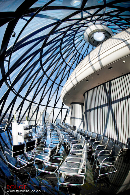 Wedding photography at the Gherkin by Studio Rouge029