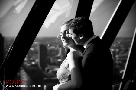 Wedding photography at the Gherkin by Studio Rouge037