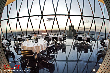 Wedding photography at the Gherkin by Studio Rouge057