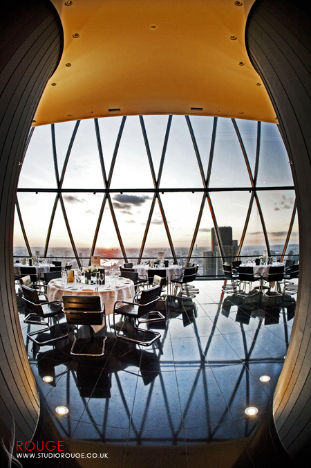 Wedding photography at the Gherkin by Studio Rouge058