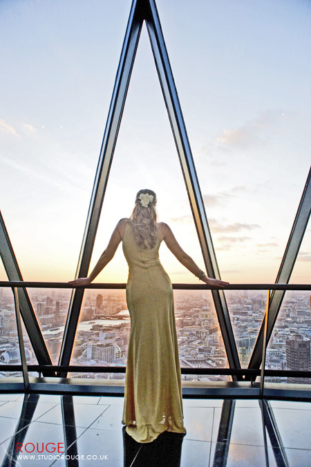 Wedding photography at the Gherkin by Studio Rouge062