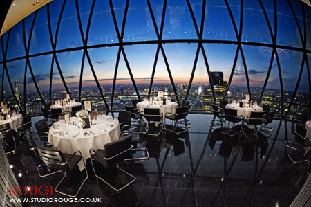 Wedding photography at the Gherkin by Studio Rouge069