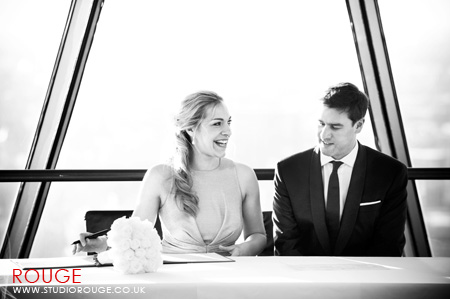 Wedding photography at the Gherkin by Studio Rouge045