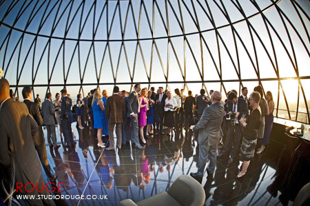 Wedding photography at the Gherkin by Studio Rouge050